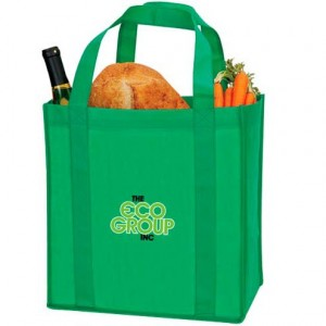 Non-woven polypropelyne is a popular, sturdy material for eco-friendly bags